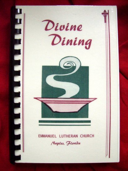 NAPLES FLORIDA FL Emmanuel LUTHERAN CHURCH COOKBOOK