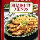 BETTY CROCKER'S 30 MINUTE COOKBOOK SOFT COVER RECIPE BOOK