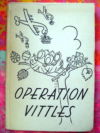 SOLD! Vintage OPERATION VITTLES Cook Book Cookbook 1949 BERLIN GERMANY FOOD DROP HISTORY