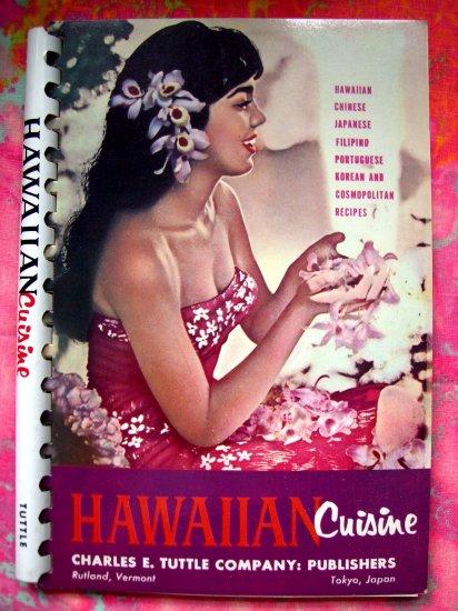 SOLD!  VINTAGE 1977 HAWAIIAN CUISINE COOKBOOK Hawaii Portuguese Filipino Japanese