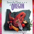 SAVOR THE FLAVOR of OREGON OR JUNIOR LEAGUE COOKBOOK HC