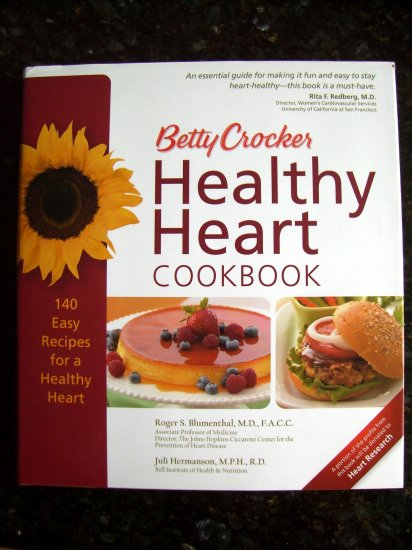 Betty Crocker Healthy Heart Cookbook HCDJ 140 Recipes