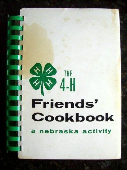 SOLD! NEBRASKA 4-H FRIENDS COOKBOOK State 4H Club & University of NE 1979