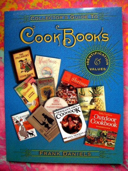 COLLECTOR'S PRICE GUIDE TO COOKBOOK COOK BOOK for OLD & NEW COOKBOOKS Collecting