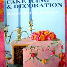 VINTAGE CAKE DECORATING BOOK WEDDING & PARTY DESSERT RECIPES OLD SCHOOL COOKBOOK