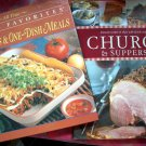 LOT CHURCH SUPPERS FAVORITE RECIPES SOCIALS DINNERS BUFFETS & CASSEROLE 1 DISH MEALS RECIPE COOKBOOK