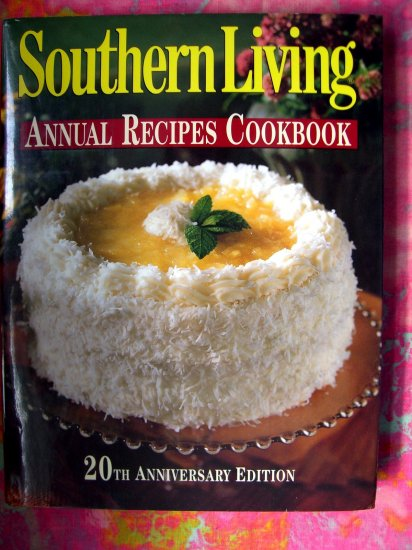 SOUTHERN LIVING Magazine COOKBOOK 20th ANNIVERSARY 1500 RECIPES