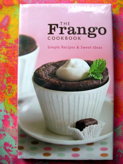 SOLD! Frango Chocolate Cookbook (Macy's--Marshall Field's) 40 Dessert Recipes NEW BOOK