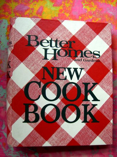 SOLD! SOLD! SOLD!  BETTER HOMES and GARDENS NEW COOKBOOK Vintage