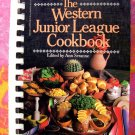 Western Junior League Recipes of the American West Spiral Cookbook  1981 1st Edition!