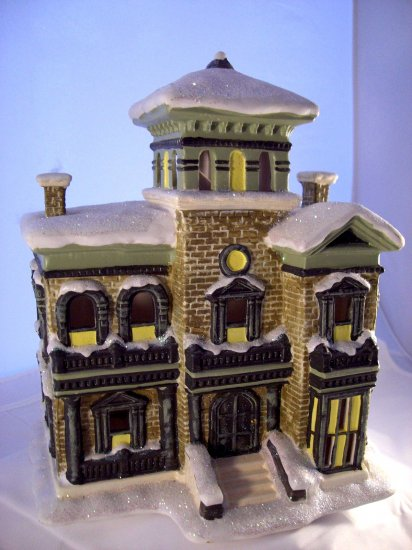 SOLD! t's (Its) A Wonderful Life Bedford Falls POTTER'S MANSION Enesco Village Series
