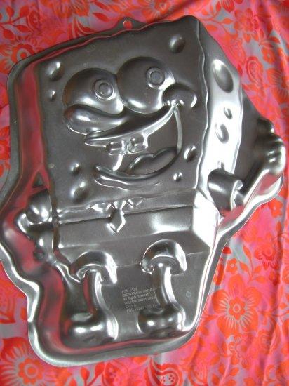 SOLD! WILTON Cake Pan SPONGE BOB SQUARE PANTS (SQUAREPANTS)