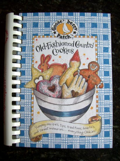 GooseBerry Patch Cookbook OLD-FASHIONED COUNTRY COOKIES Hard to Find Cookbook ~ Cookie Recipes!