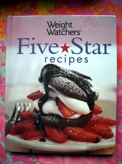 SOLD! WEIGHT WATCHERS 140 FIVE STAR RECIPES COOKBOOK HC 2005 Points