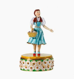 Dept 56 Wizard Of Oz Dorothy Collectible Jeweled Box SEALED ~ MINT NIB