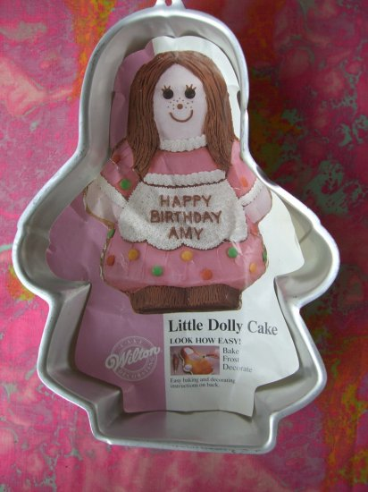 """Wilton Cake Pan """"Little Dolly"""" with Insert # 2105-9404 Doll"""