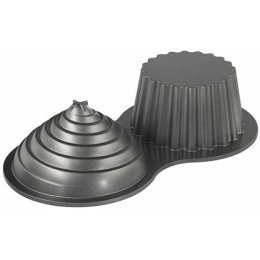 SOLD! NEW Wilton Dimensions Large Cupcake Pan#2105-5038  Weight Cast Aluminum Cake Pan