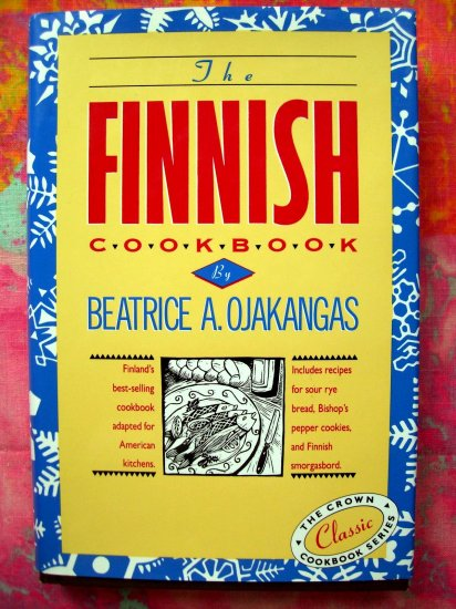 SOLD!  Finnish Cookbook HCDJ Recipes from Finland by Beatrice Ojakangas