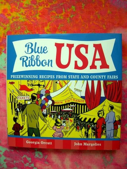 SOLD! Blue Ribbon USA  Prizewinning Recipes from State and County Fairs Cookbook Book State