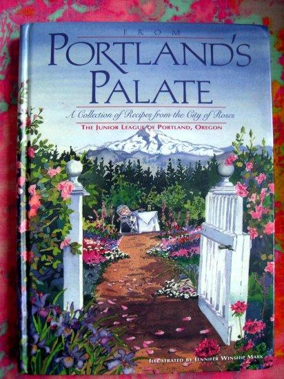 SOLD! Portland's Palate Collection Recipes Junior League PORTLAND OREGON Cookbook HC