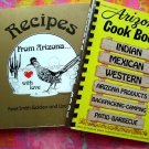 LOT 2 RECIPES FROM ARIZONA WITH LOVE COOKBOOK MEXICAN ~AMERICAN INDIAN ~ WESTERN & More!