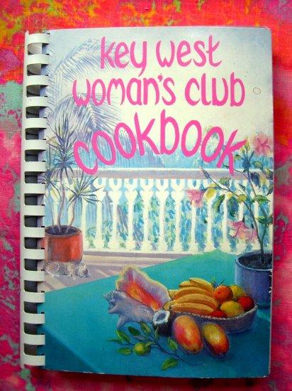 SOLD!  Key West Woman's Club Cookbook 1988 Florida (FL) GREAT Recipes!