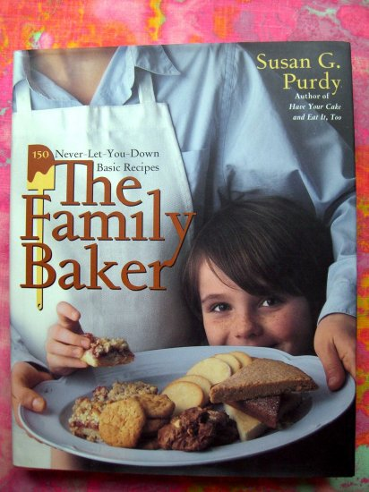 BAKER FAMILY COOKBOOK 150 DESSERT,  CAKE & COOKIE RECIPES! 1st Edition/1st Print HCDJ