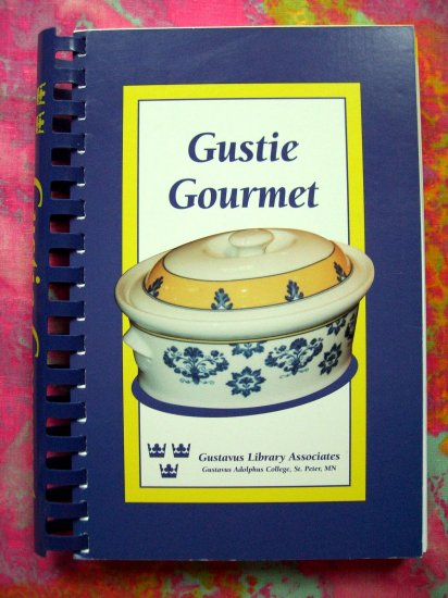SOLD! Gustie Gourmet Cookbook Gustavus Library St Peter Minnesota MN OOP