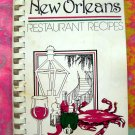 A La New Orleans Restaurant Recipes Cookbook 1980 Michale Grady Cajun Creole Southern