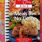 COMPANY'S COMING Meals in No Time 3 Books In 1 Cookbook