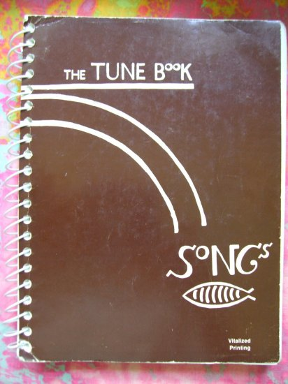 SOLD! The Tune Book Songs HUGE Hymn Fake Songbook 1981 Over 900 songs for church, choir groups