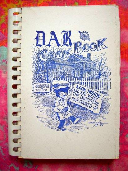 SOLD! Daughters Of The American Revolution DAR Vintage 1949 Cook Book (Cookbook)