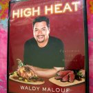 High Heat: Grilling Roasting Year-Round Cookbook Chef Waldy Malouf ~ 125 Recipes Grill BBQ 1st Ed
