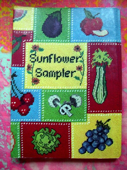 SOLD!Sunflower Sampler by Junior League Rare Cookbook ~~~ Wichita, Kansas (KS) Free Shipping