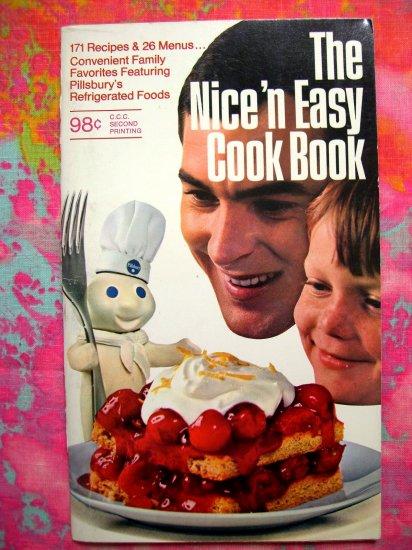 Vintage Pillsbury Dough Boy Cookbook