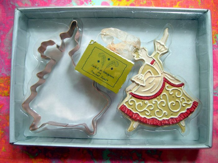 SOLD! RARE MARSHALL FIELDS COPPER COOKIE CUTTER MINT LADY