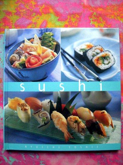 Sushi by Ryuichi Yoshii Reipes/Cookbook HC Japanese Essential Kitchen Series