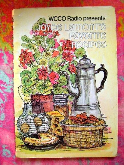 SOLD! WCCO Radio Joyce LaMont Twin Cities Cookbook