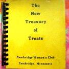 The New Treasury of Treats Cambridge Woman's Club Minnesota MN 1971