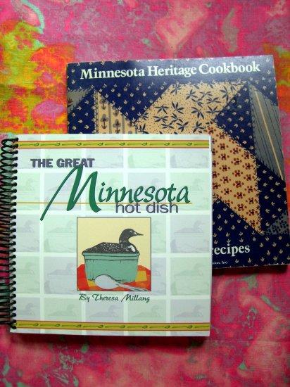 MINNESOTA MN HERITAGE COOKBOOK Recipes 1979 + HOT DISH Recipes Book YUMMY!