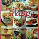 Weight Watchers Make it Snappy, Low-Point Recipes in Less Than 30 Minutes 1-2-3 Cookbook Diet