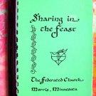 "Morris Minnesota (MN) Church Cookbook  1984 ""Sharing in the Feast"""