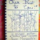 Vintage Grand Marais Church Cookbook (MN) Minnesota North Shore Recipes 1974