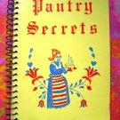 Pantry Secrets Church Cookbook 1963 Minneapolis, Minnesota MN  Swedish Smörgåsbord  too!