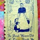 Rare Drexel Woman's Club Cookbook  (Cook Book)  Vintage 1945  University  Philadelphia Pennsylvania