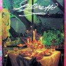 Libretto ~ The Opera Society Menu Cookbook Fort Lauderdale Florida Community Cookbook 1st 1987 FL