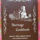 Rural Hayfield Minnesota MN Norwegian Lutheran Church ~ Heritage Cookbook 1981