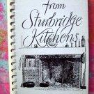 Favorite Recipes from Sturbridge Kitchens Cookbook Vintage 1980 Mass MA