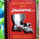 Best of the Best from LOUISIANA (LA) Cookbook Southern 400 Recipes Louisiana's Favorite Cookbook