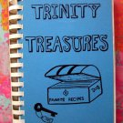 Vintage 1983 Trinity Treasures Lutheran Church Cookbook Norwegian Recipes Deronda Wisconsin WI